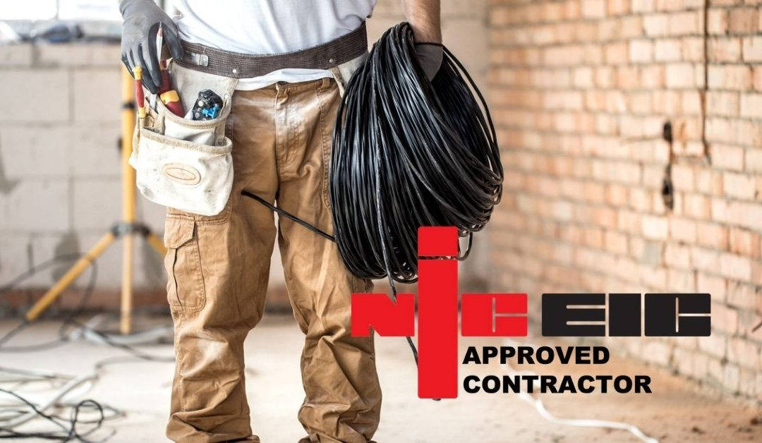 We're NICEIC approved new build contractors – what this means